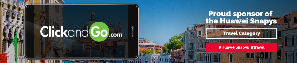 Huawei snapys website banner category travel click